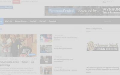 wynnumcentral_new site screenshot_dark